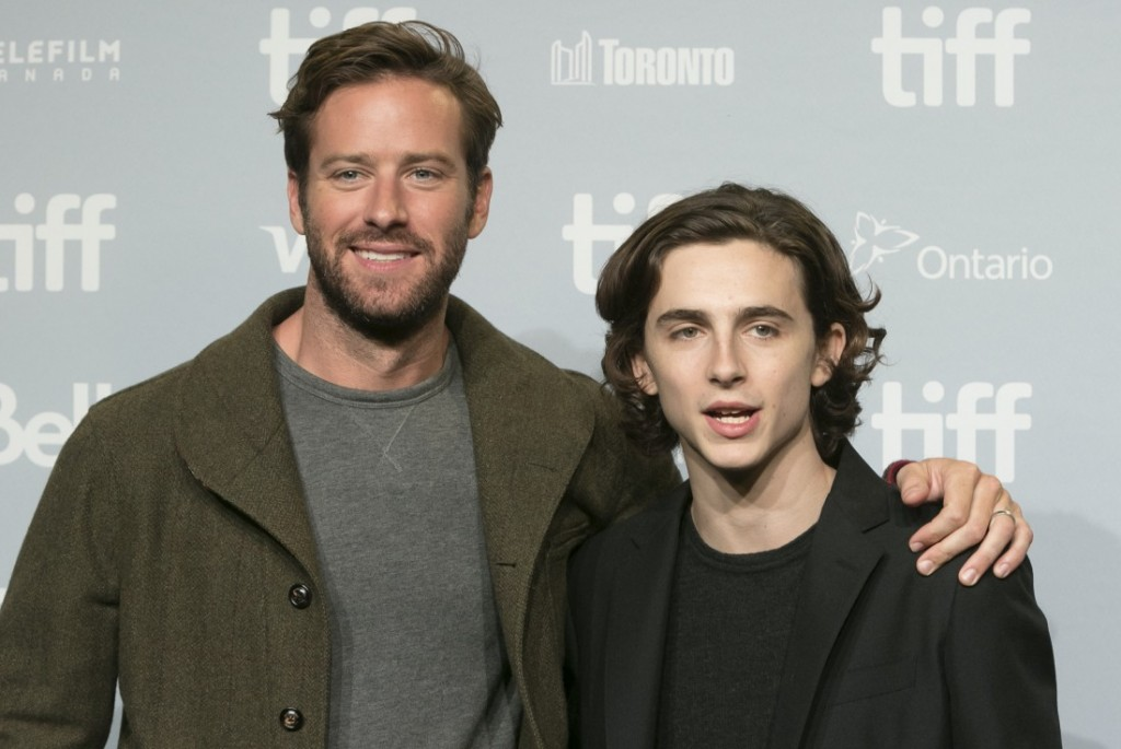 42nd Toronto International Film Festival - Call Me By Your Name - Photocall