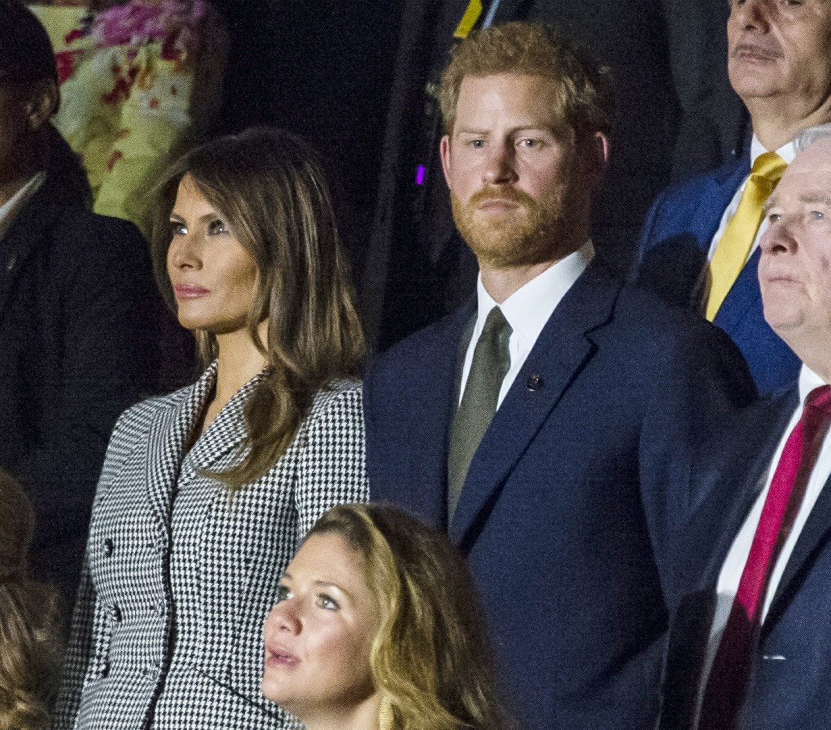 Prince Harry didn't sit with Meghan Markle at the opening of the Invictus Games