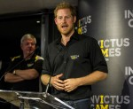 Prince Harry attends Invictus Games Foundation Reception