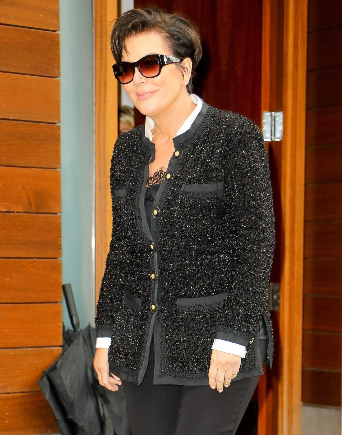 Kris Jenner is all smiles after signing the new 'KUWTK' deal