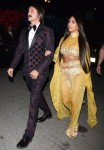 70's vibe! Kim Kardashian and Jonathan Cheban at Casamigos Tequila Halloween Party
