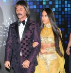 Kim Kardashian and Jonathan Cheban are Sonny & Cher at the Casamigos Tequila Halloween Party