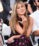 Jennifer Aniston attends Jason Bateman's Walk of Fame ceremony