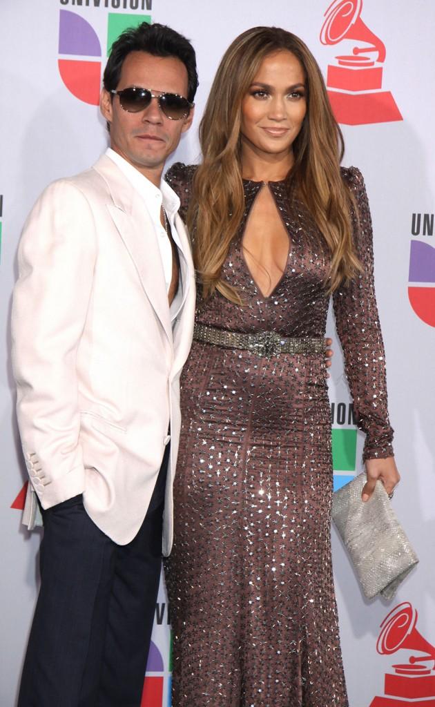 Mark Anthony and Jennifer Lopez