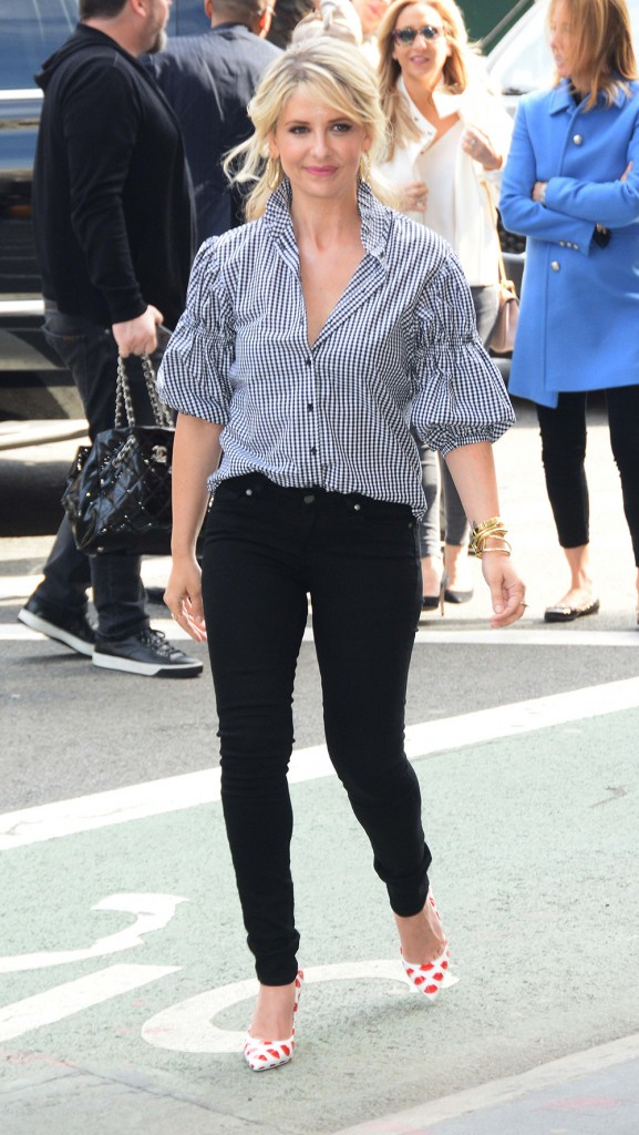 Celebrities out and about in New York