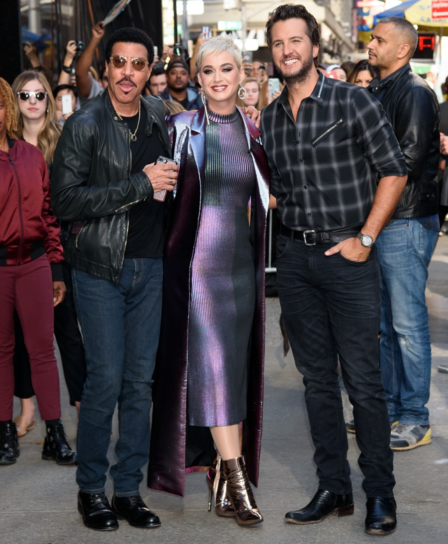 The new American Idol judges arrive for 'Good Morning America'