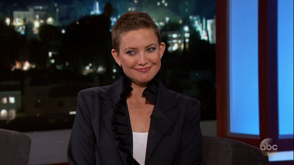 Kate Hudson during an appearance on NBC's 'The Tonight Show Starring Jimmy Fallon.'