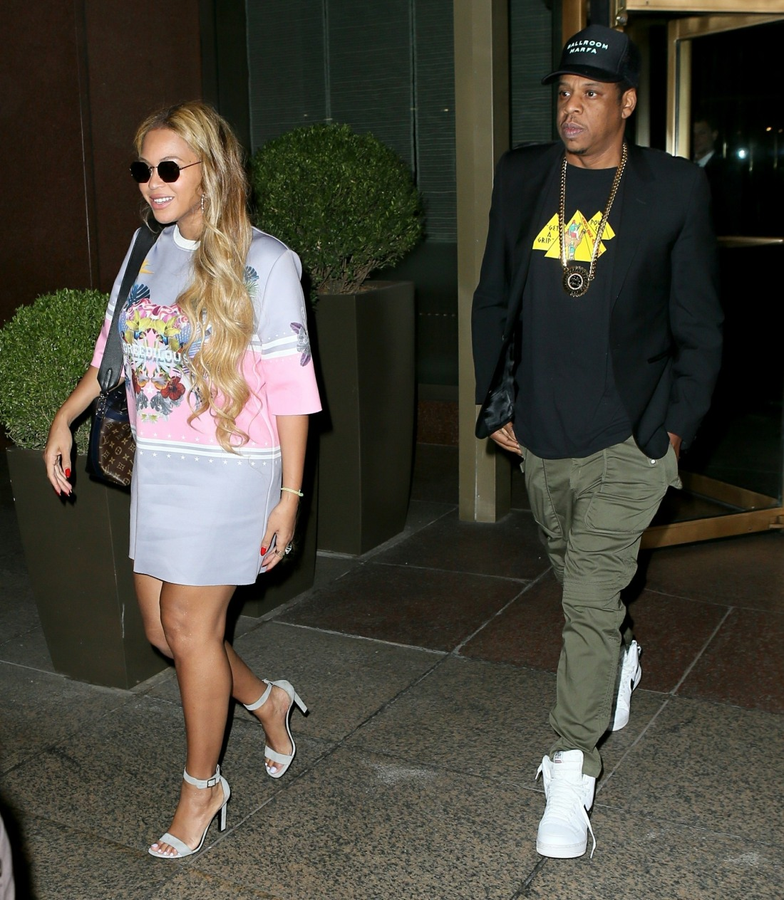 Beyonce and Jay Z head to Radio City Music Hall for Solange's concert