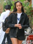 Malia Obama heads to work at Weinstein Company in NYC