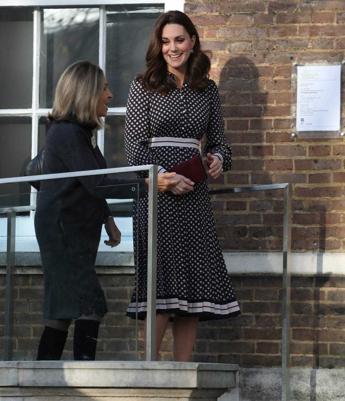 Catherine, Duchess of Cambridge visits the Foundling Museum