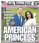 Newspaper covers around the world celebrate the engagement of Prince Harry and Meghan Markle