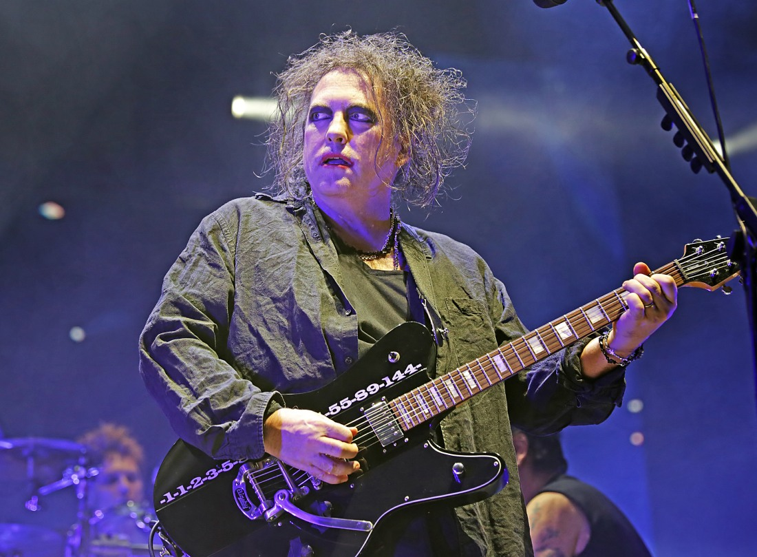 The Cure performing at Manchester Arena