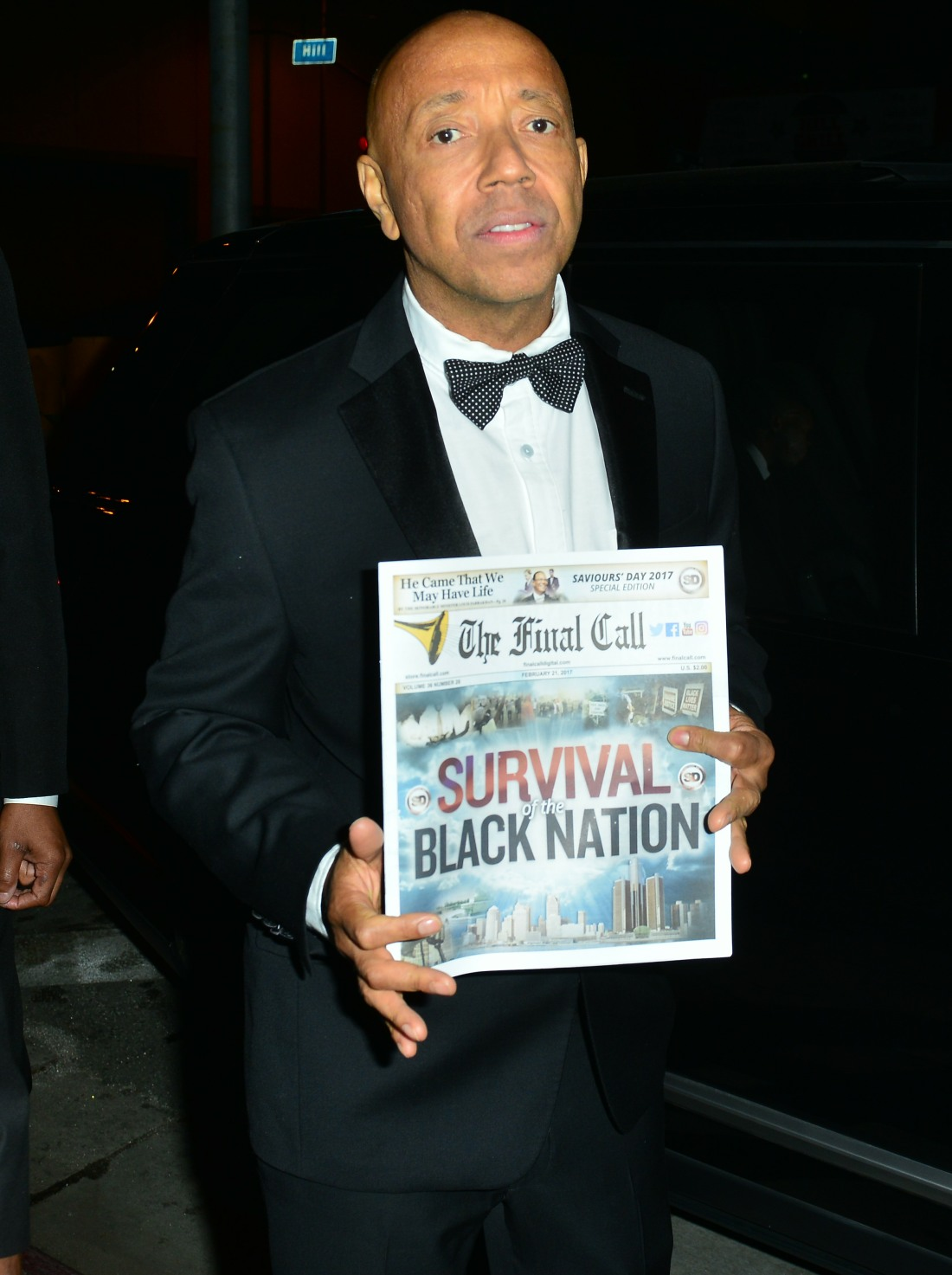 Russell Simmons and The 'Survival Black Nation' Movement