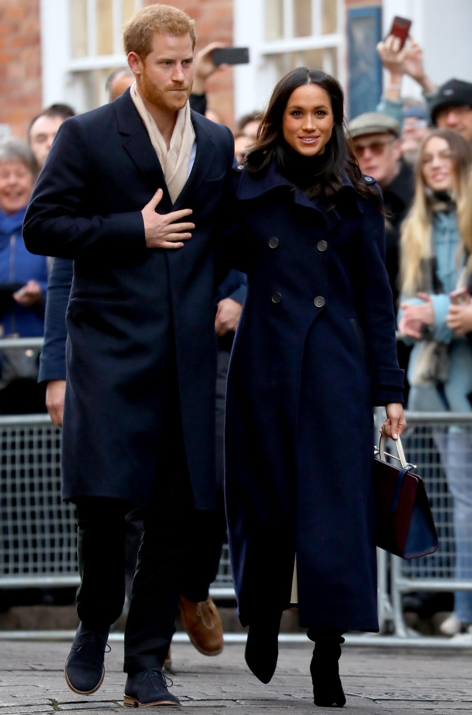 Prince Harry and Meghan Markle visit Nottingham