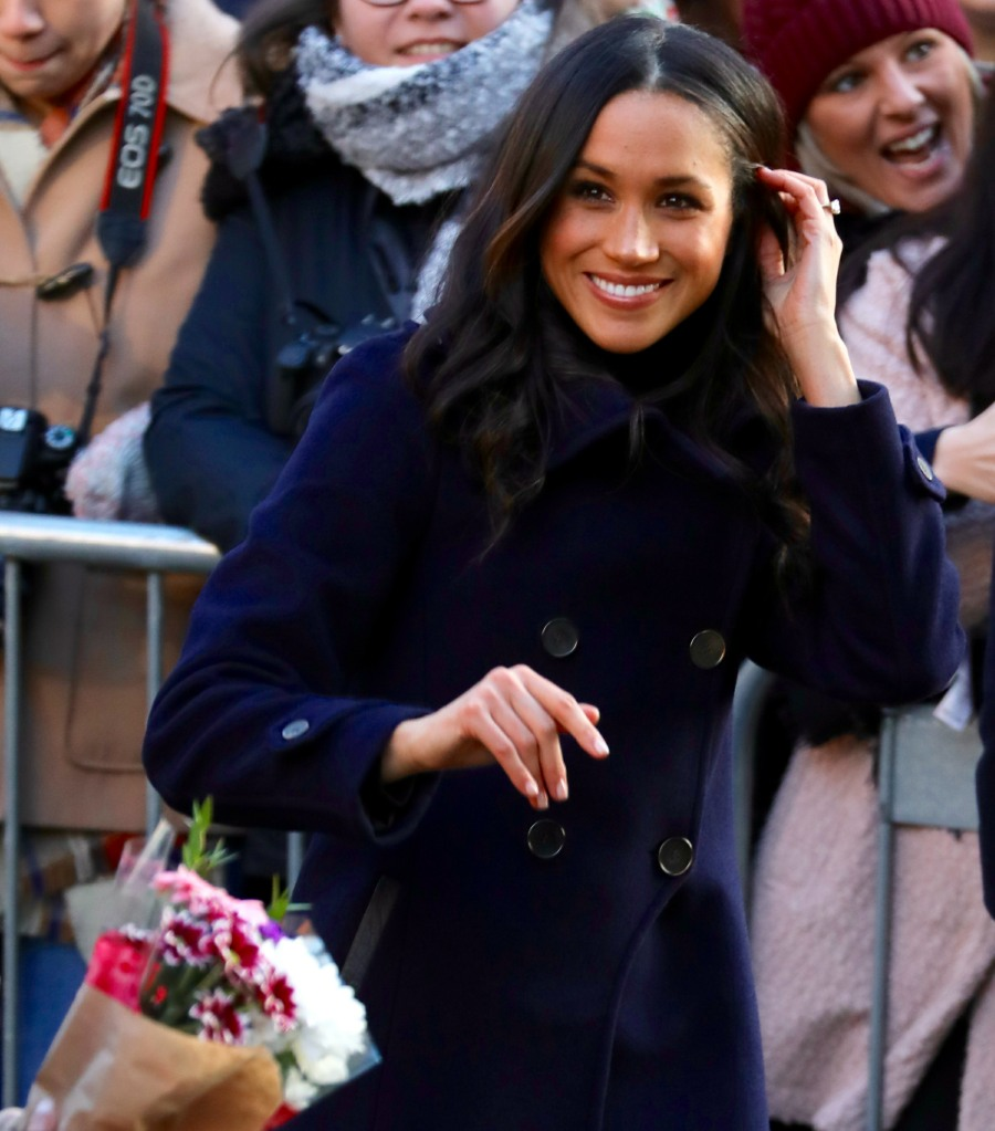 Prince Harry and Meghan Markle Visit Nottingham