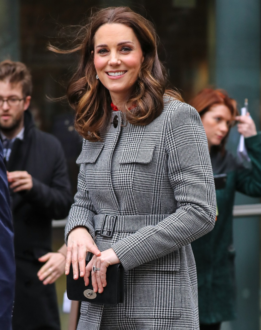 The Duke and Duchess of Cambridge attend the Children's Global Media Summit