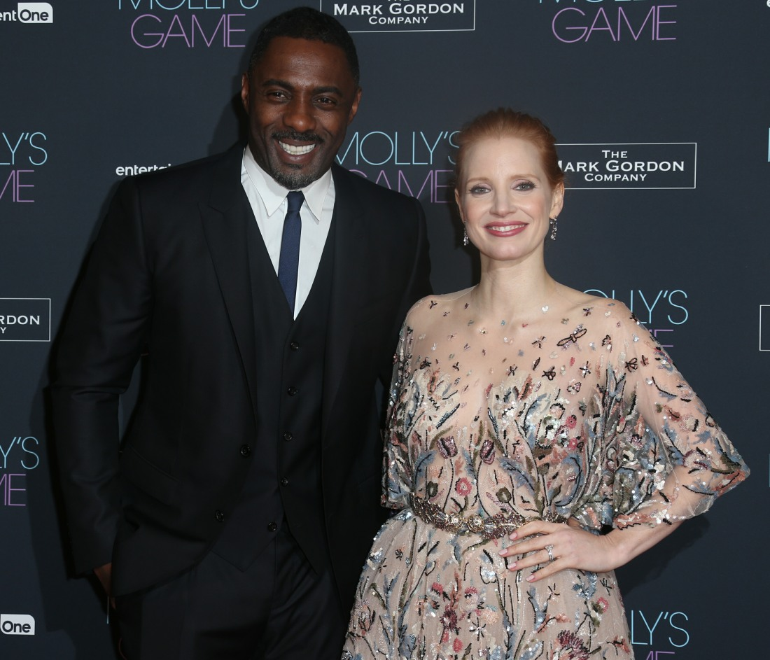 Blind item: Which 'well known actor' told Jessica Chastain to 'calm down'?