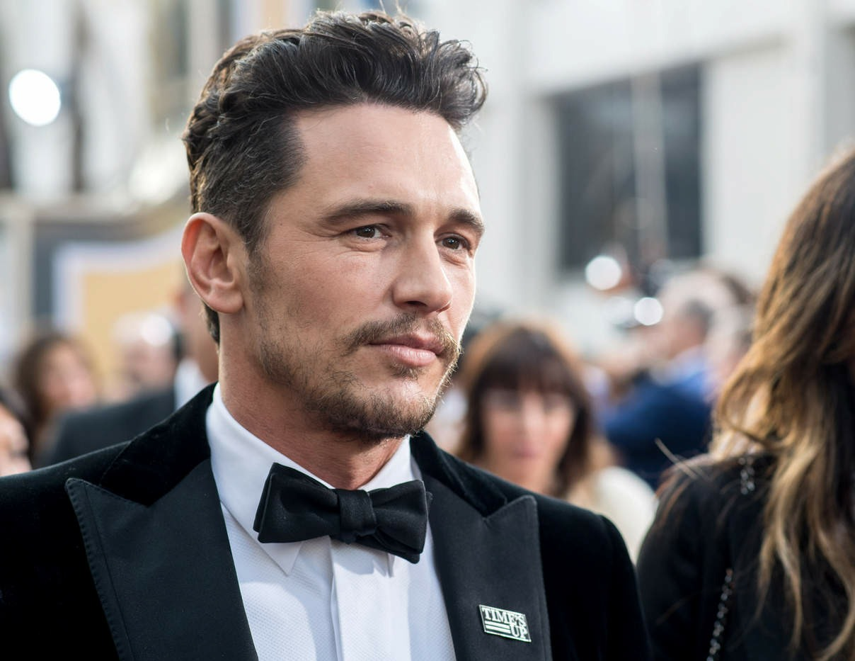 James Franco at the 75th Annual Golden Globe Awards at The Beverly Hilton Hotel in Beverly Hills