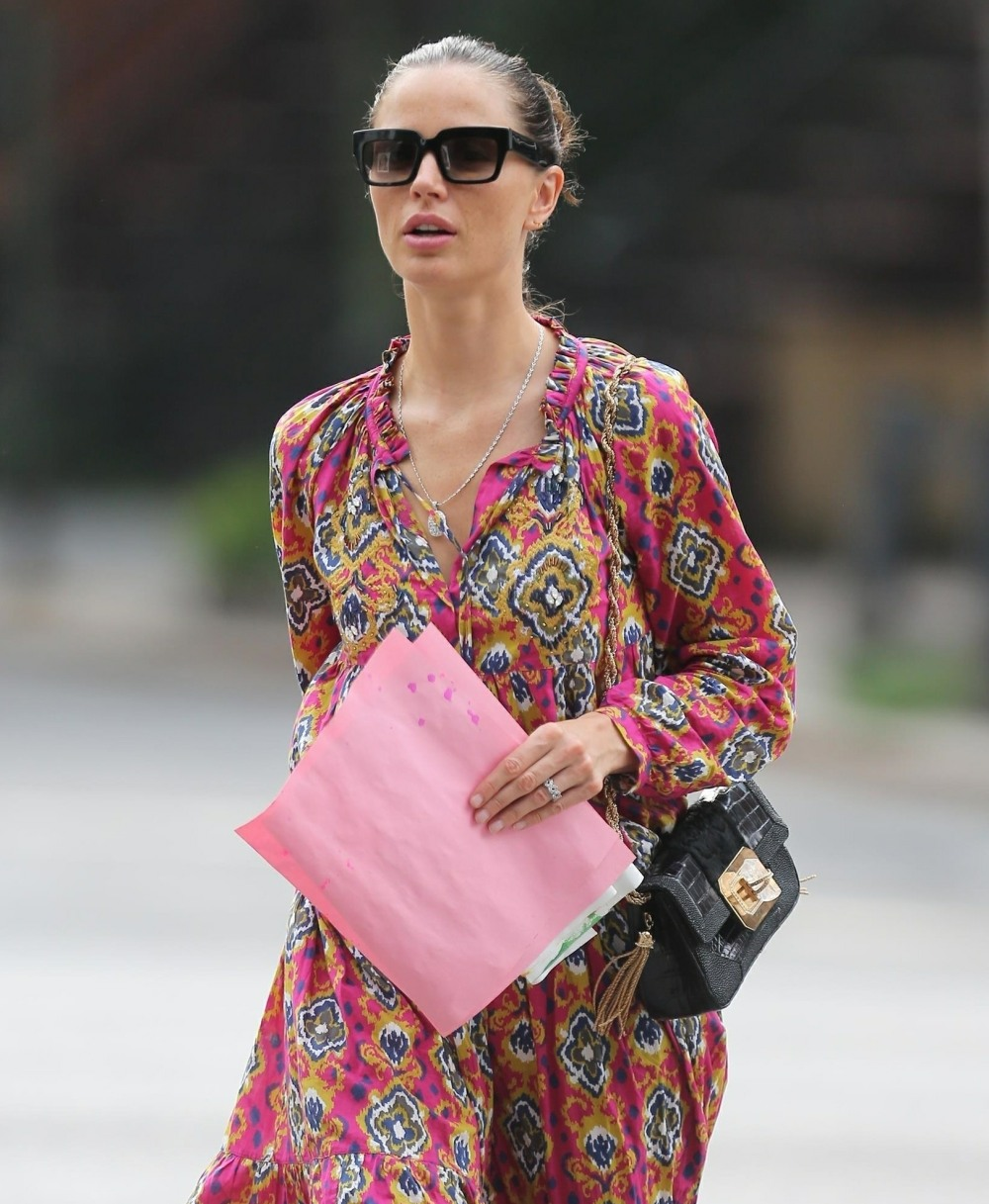 Harvey Weinstein's wife Georgina Chapman is seen out in NYC **FILE PHOTOS**