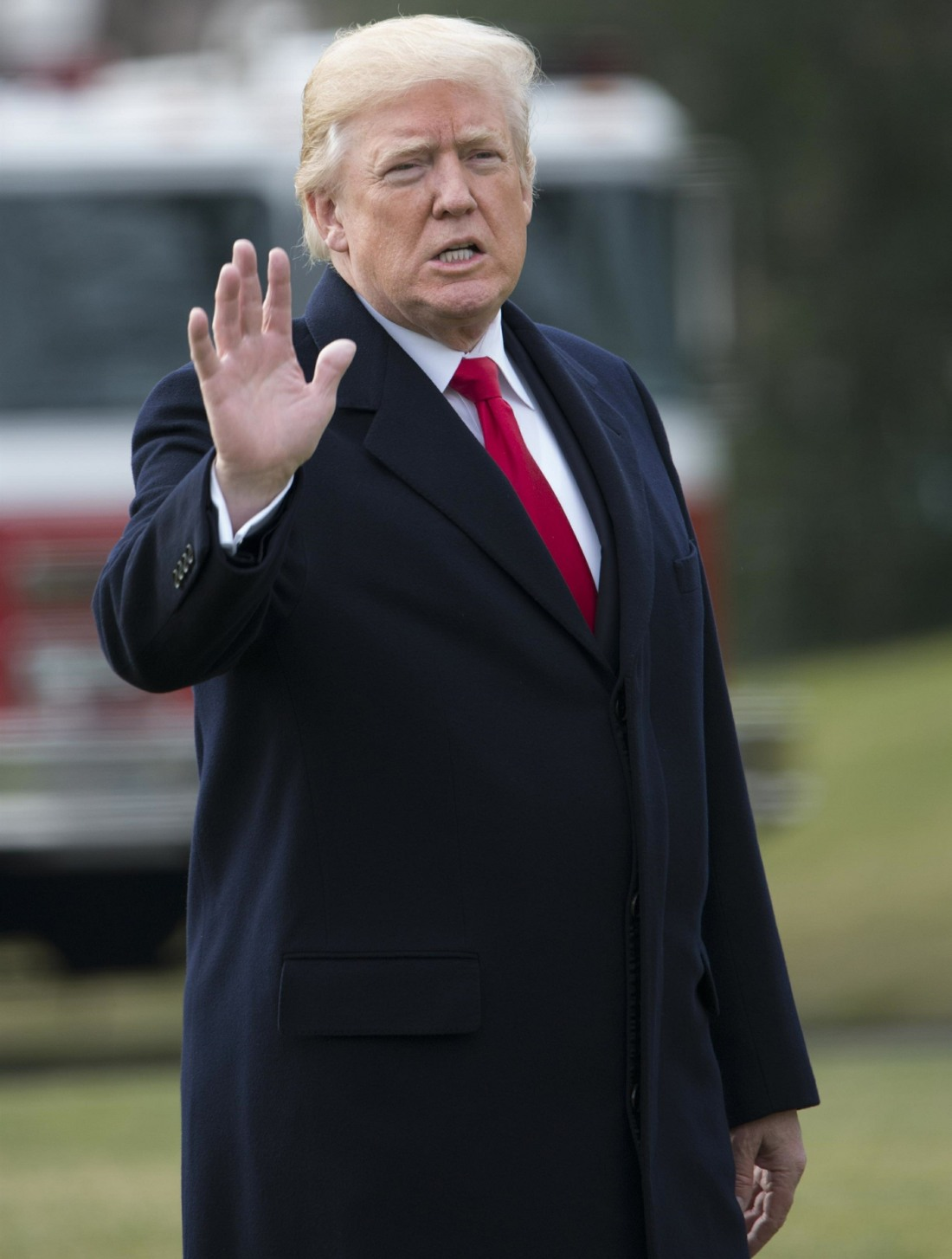 President Trump Leaves The White House For Florida