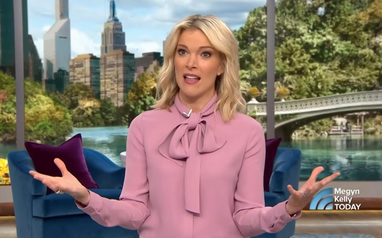 Megyn Kelly today as seen on NBC.