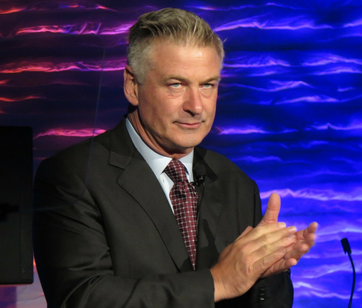 Alec Baldwin attends the National Geographic Ocean Experience in Times Square, New York