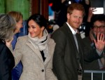 Prince Harry and Meghan Markle visit Reprezent 107.3FM in Brixton