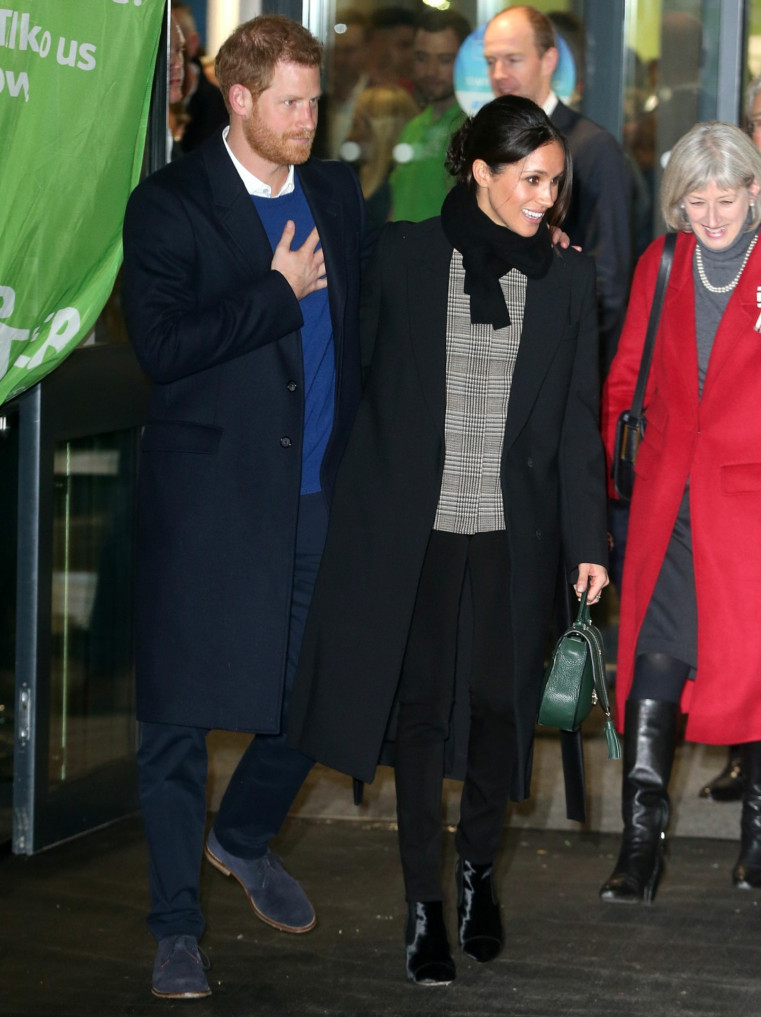 Meghan Markle and Prince Harry visit Cardiff