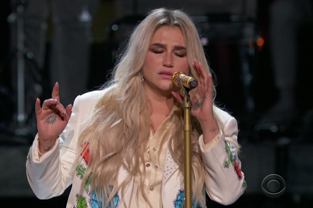 El 60 Anual de Premios Grammy como se ve en la CBS.
