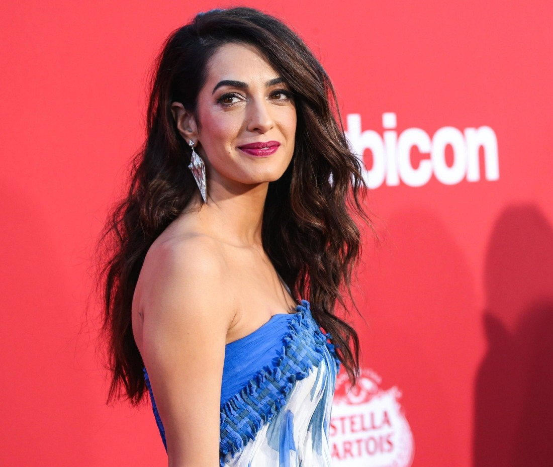 Amal Clooney stuns at the Los Angeles Premiere Of Paramount Pictures' 'Suburbicon'