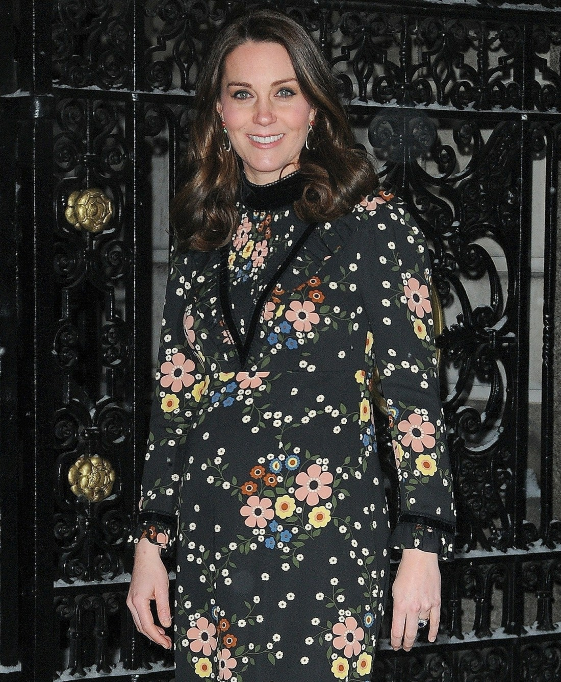 Catherine Duchess of Cambridge at National Portrait Gallery