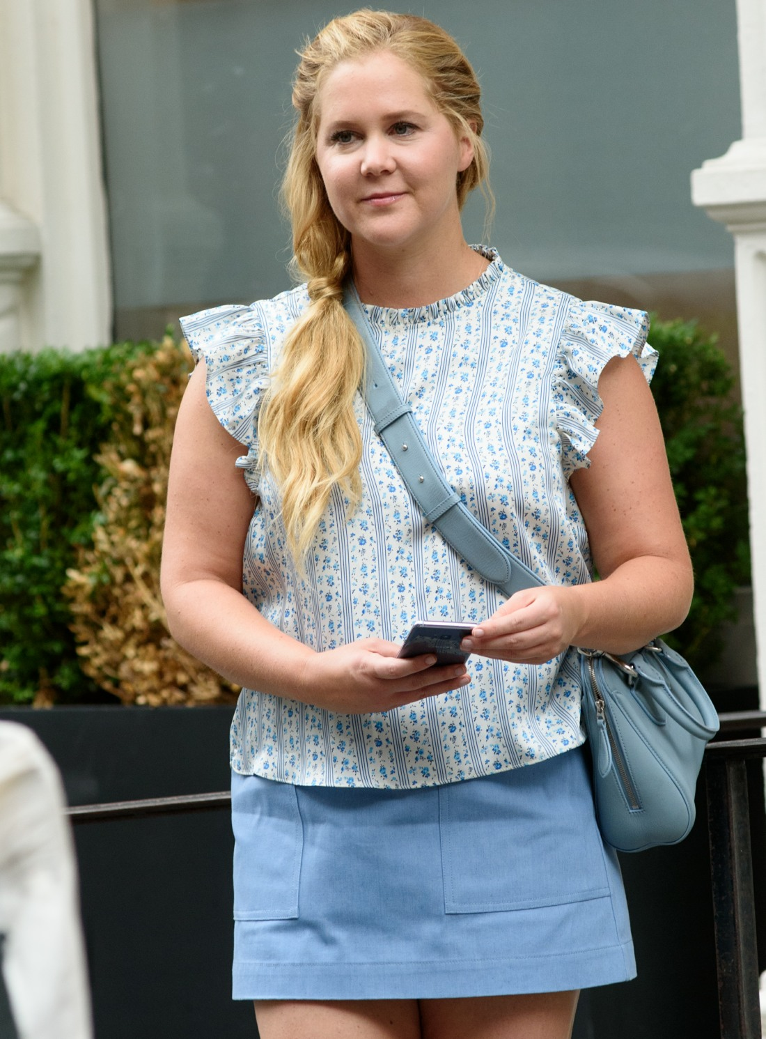 Amy Schumer films 'I Feel Pretty'