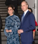 The Duke and Duchess of Cambridge, accompanied by Crown Princess Victoria and Prince Daniel, attend an event at the Fotografiska Galleries