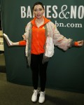 Rose McGowan gets emotional at her book reading for 'Brave'