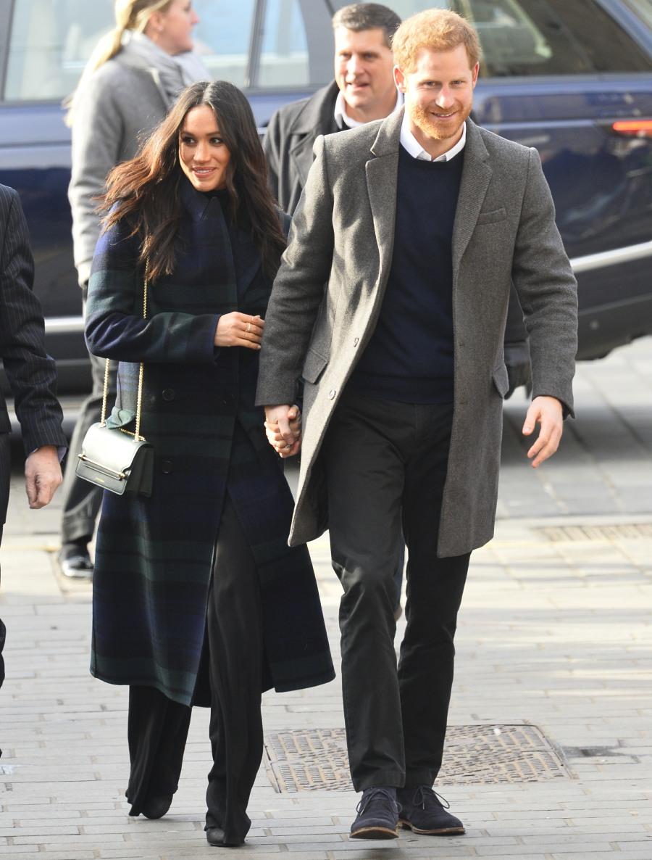 Prince Harry and Meghan Markle visit Social Bite