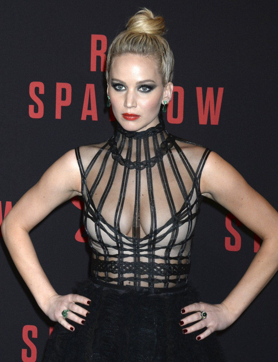 'Red Sparrow' Premiere in New York