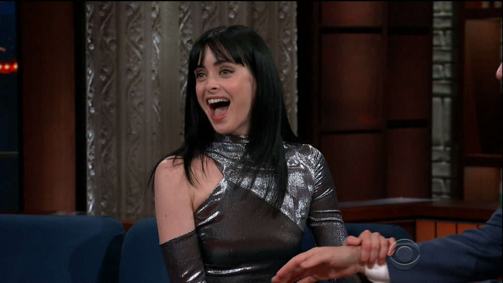 Cele|bitchy | Krysten Ritter: 'I'd rather be knitting than ...
