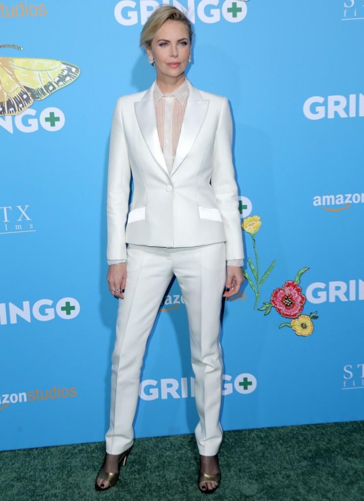 Gringo film premiere in Los Angeles