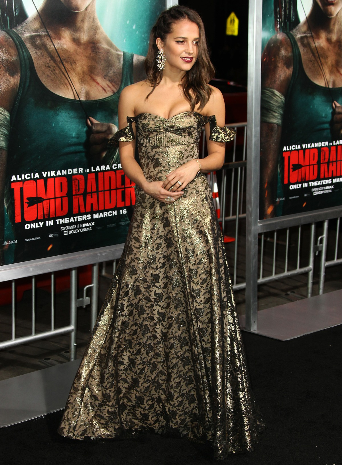 Los Angeles premiere of 'Tomb Raider' - Arrivals