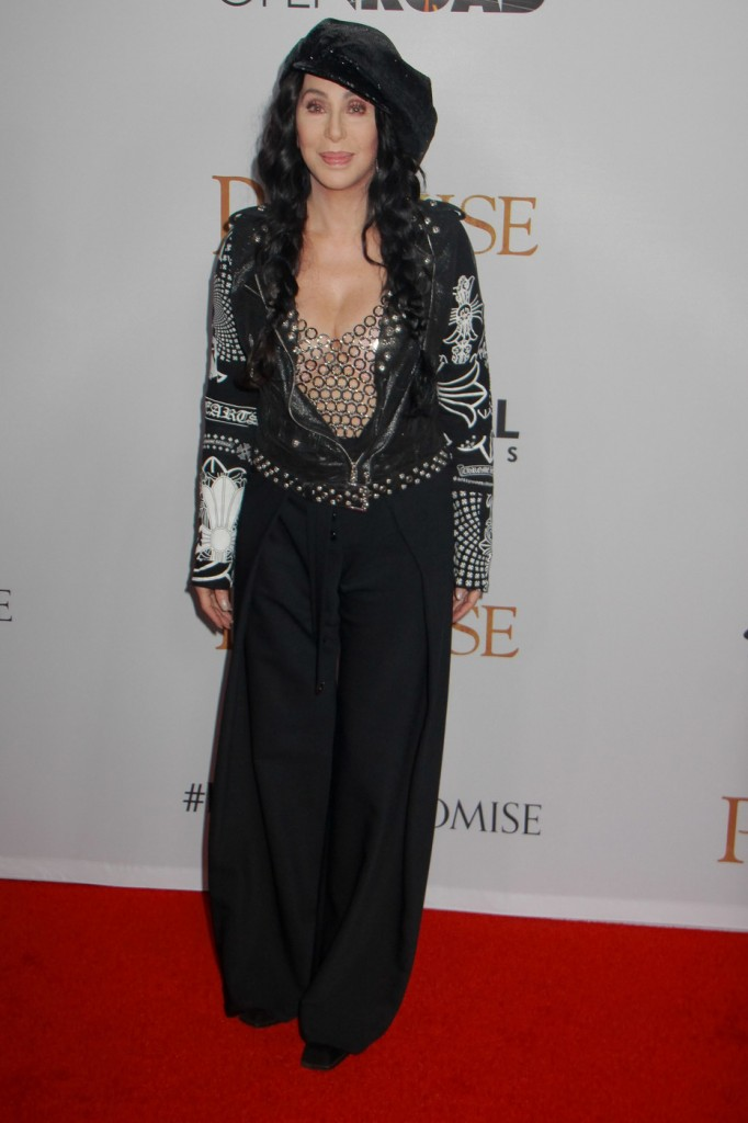 Cher  at The Promise film premiere held at the TCL Chinese Theater in Hollywood