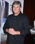 Sean Hannity at the launch of The Geraldo Show: A Memoir at Del Frisco's Grille