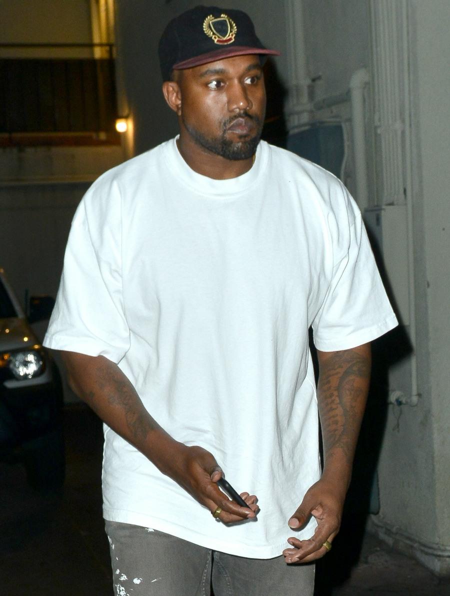 Kanye West hojas Matsuhisa restaurante de Sushi en Beverly Hills