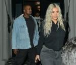 Kim Kardashian y Kanye West para la cena de Craig's restaurante