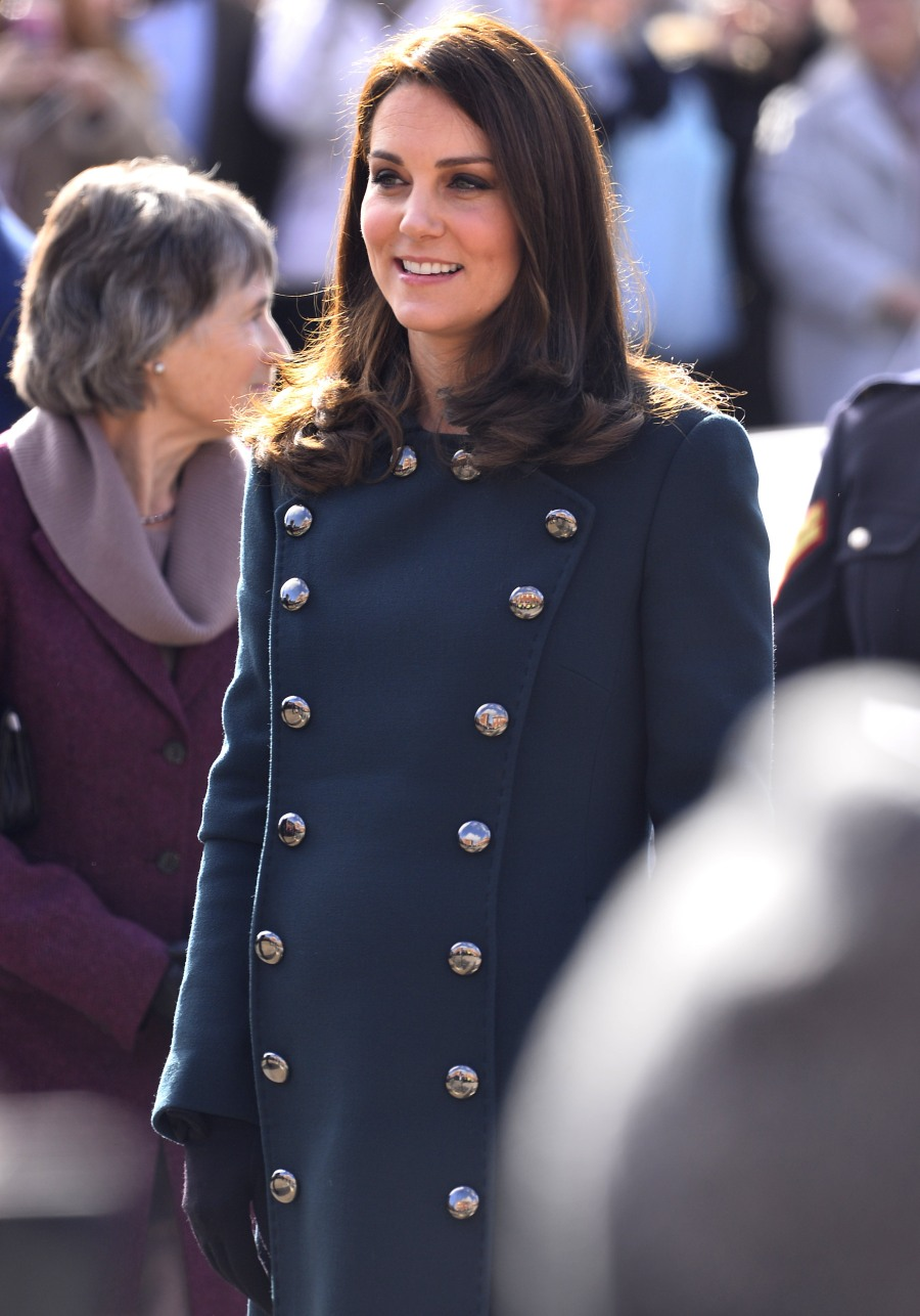 The Duke and Duchess of Cambridge visit the Fire Station Arts Centre in Sunderland