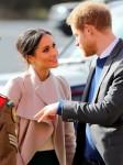 el Príncipe Harry y Meghan Markle visitar el Eikon Centro en Lisburn