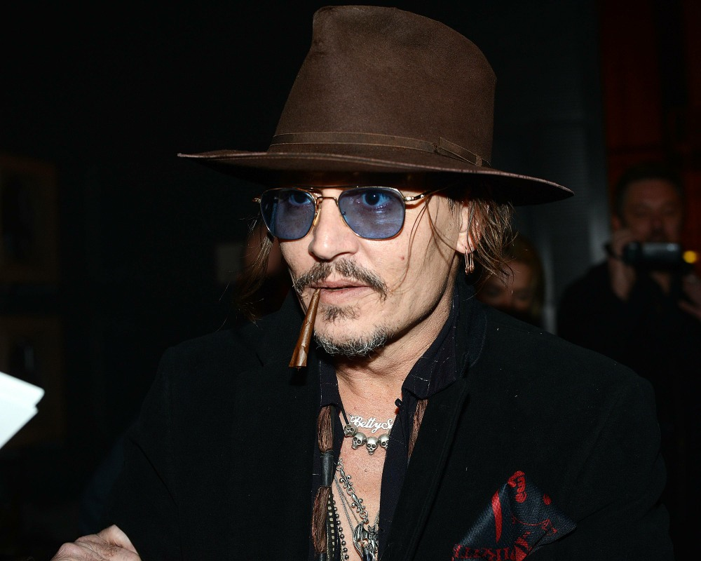 Johnny Depp and guests attend Shane MacGowan 60th