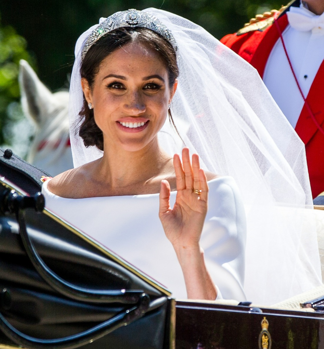 The Duchess of Sussex got her own Coat of Arms (and the Markle family did not)