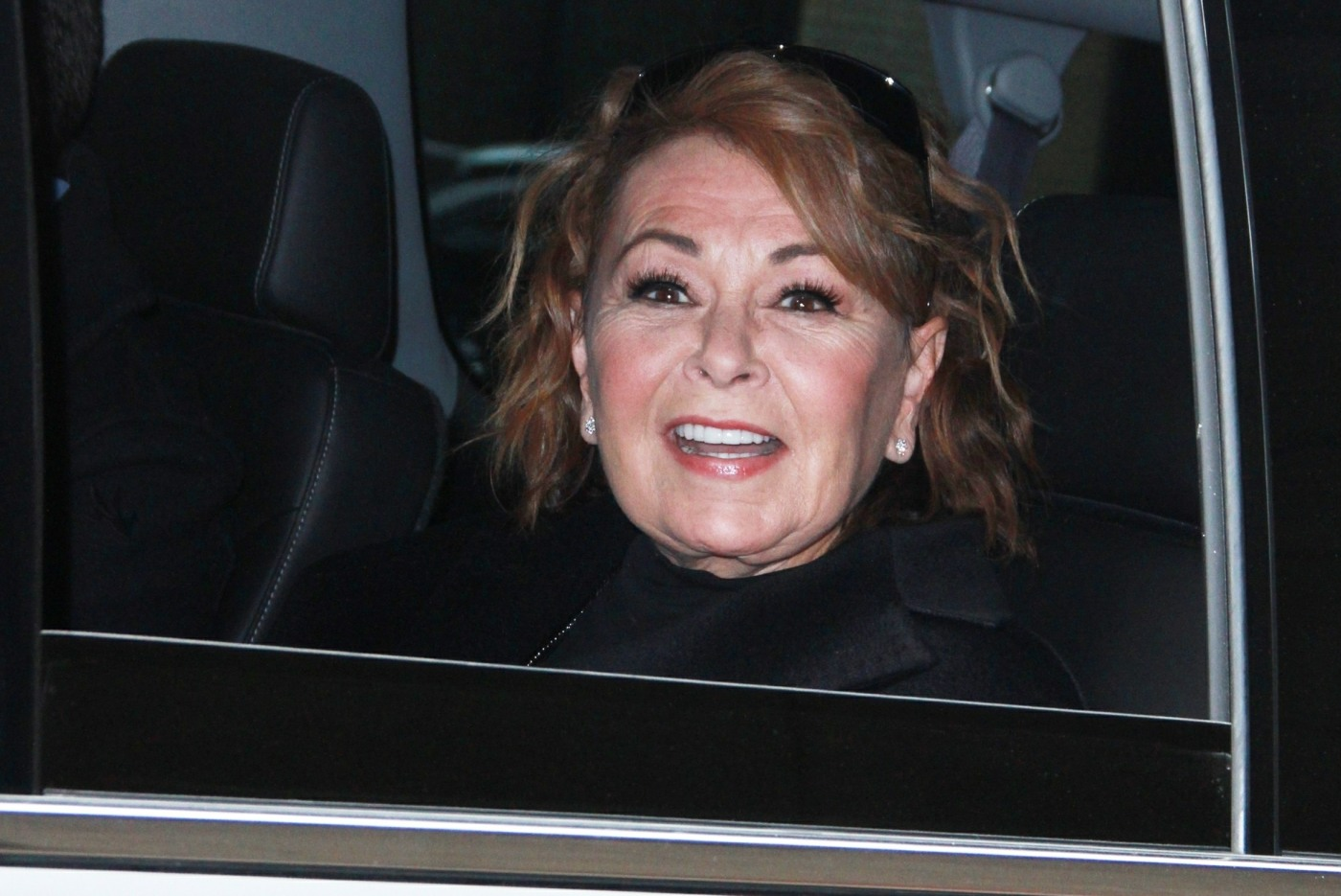 Roseanne Barr promotes the new season of 'Roseanne' at The Wendy Williams Show