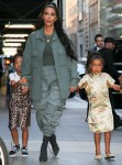 Kim Kardashian and Kanye West celebrate daughter North's Birthday at the Polo Bar in NYC
