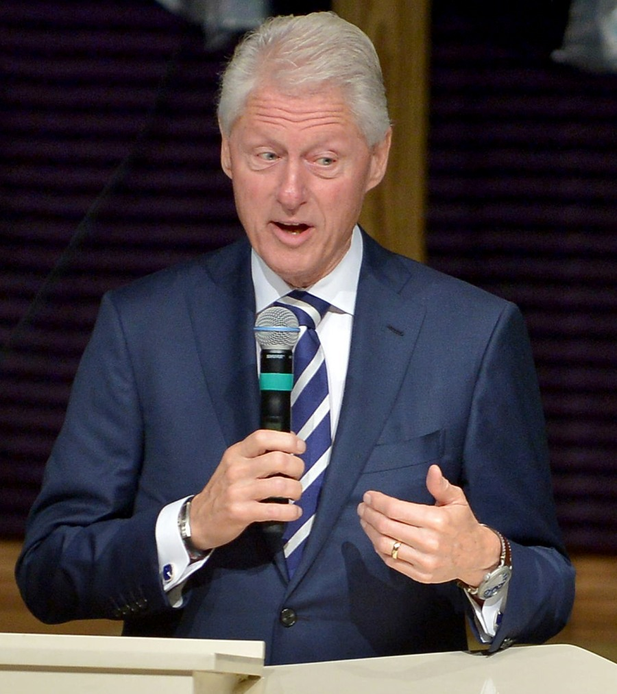 Bill Clinton at the New Birth Baptist Cathedral of Faith International